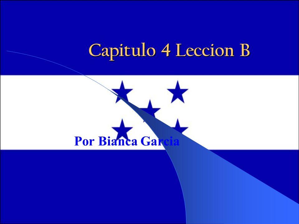 Capitulo 4 Leccion B Por Bianca Garcia