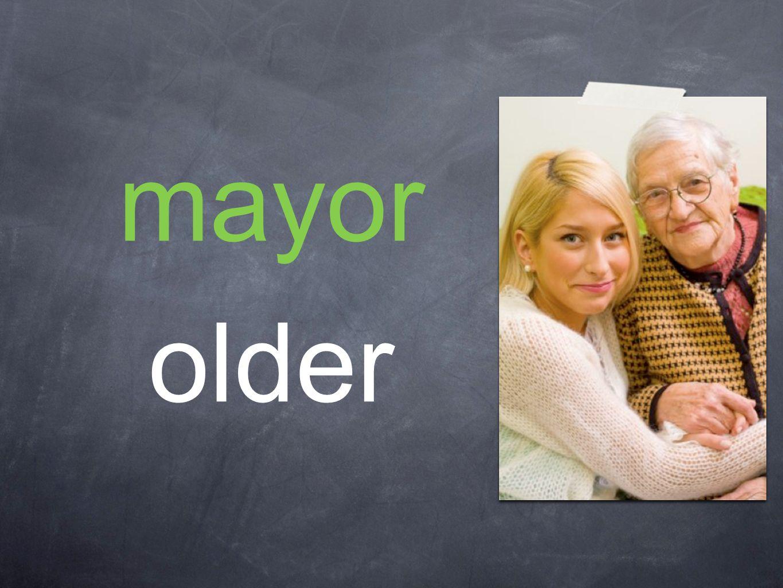 mayor older
