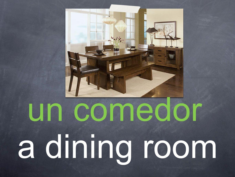 un comedor a dining room