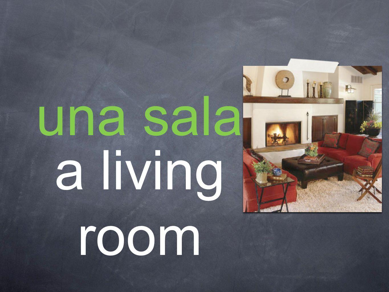 una sala a living room