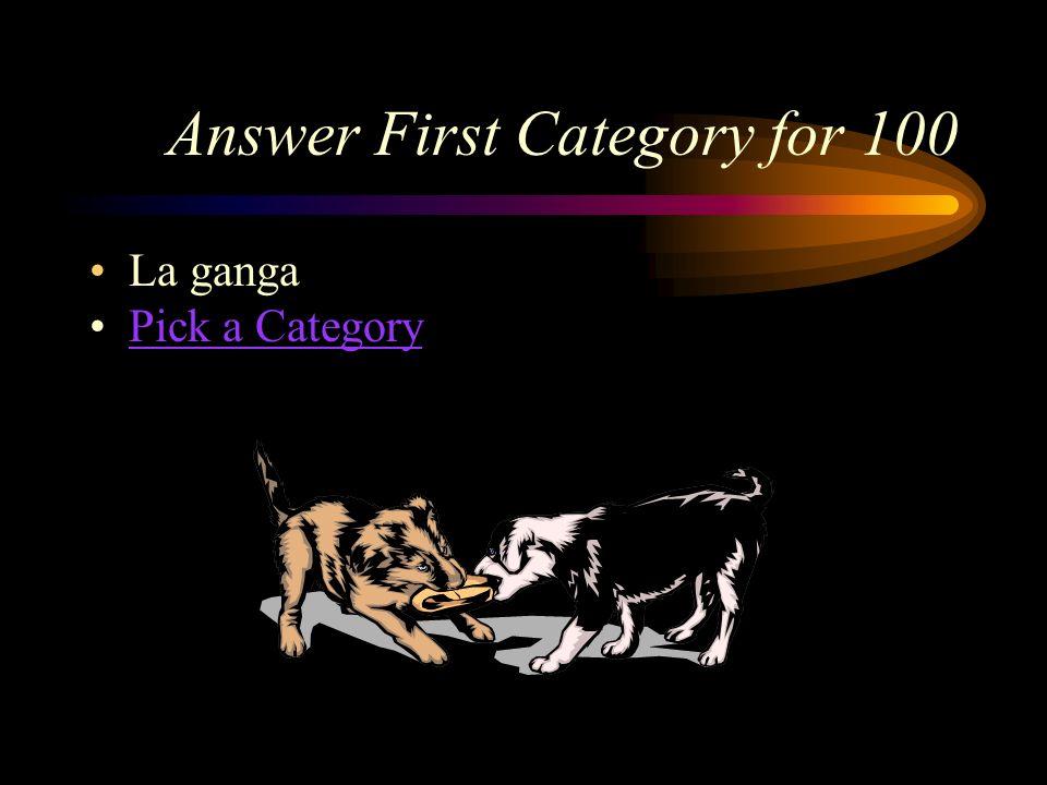 First Category for 100 ¿Cómo se dice, bargain en español?
