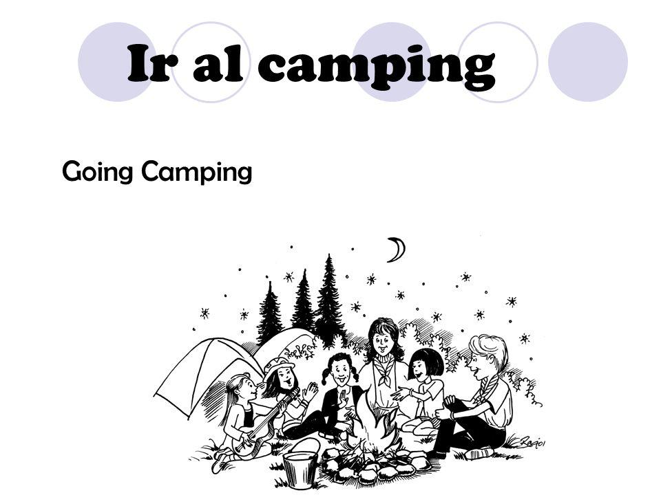 Ir al camping Going Camping