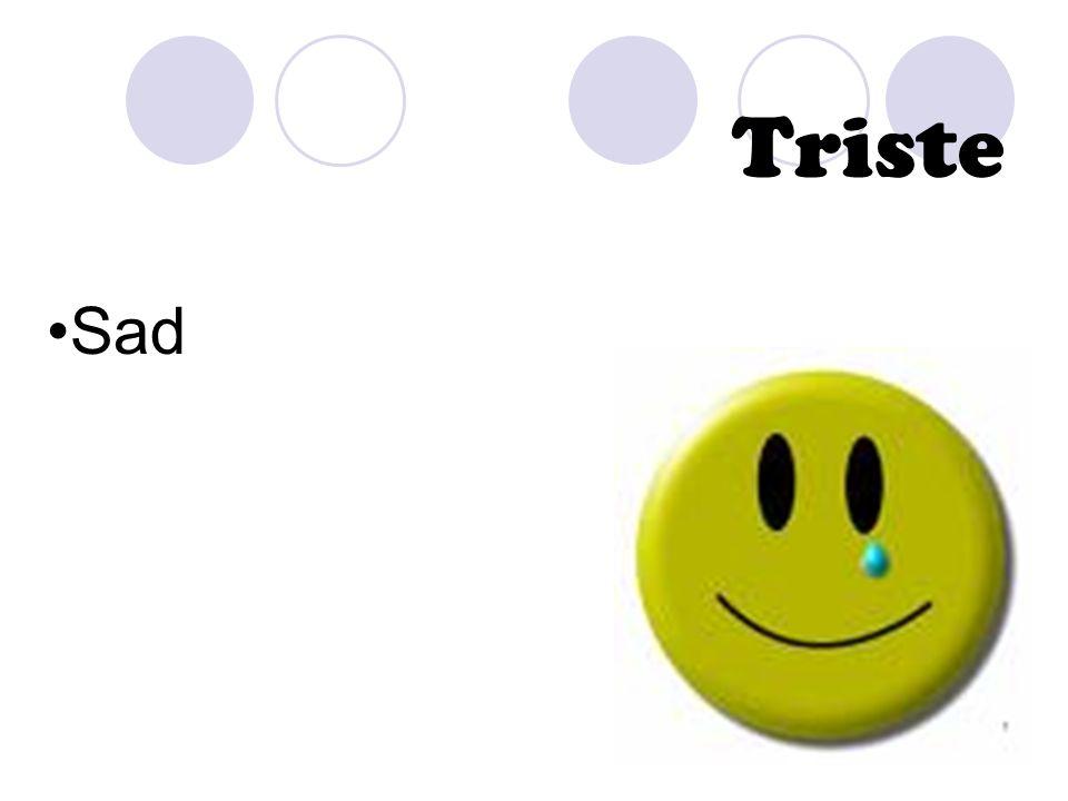 Triste Sad