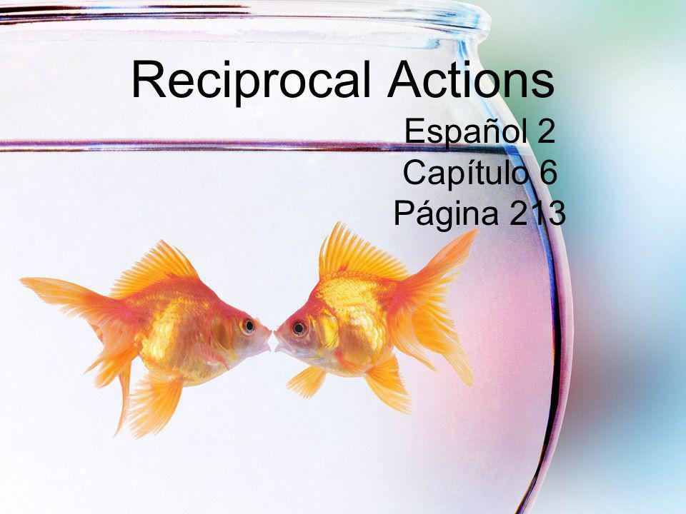 Reciprocal Actions Español 2 Capítulo 6 Página 213