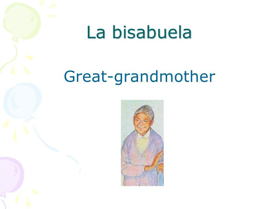 El bisabuelo Great-grandfather