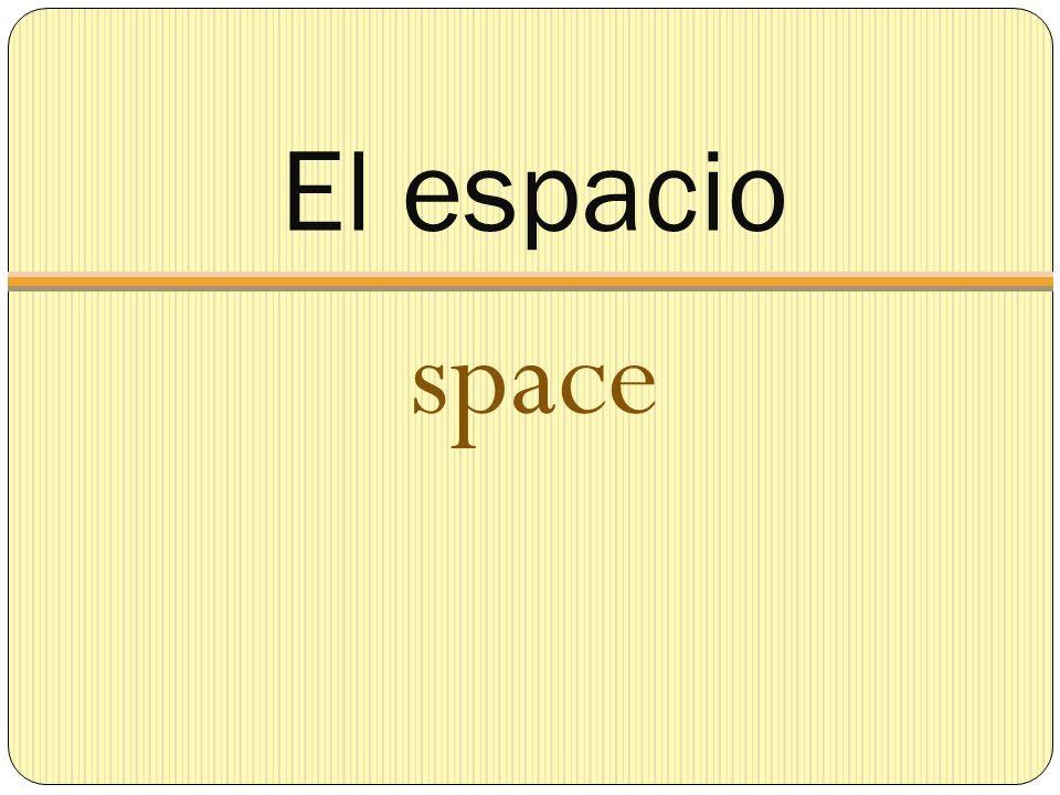 El espacio space
