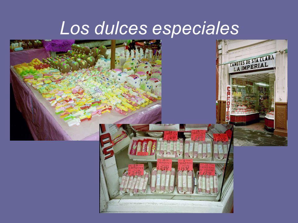 Los dulces especiales