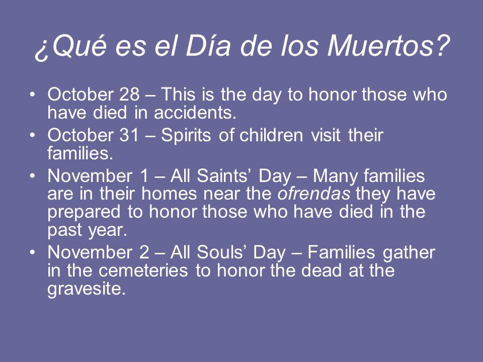 ¿Qué es el Día de los Muertos.