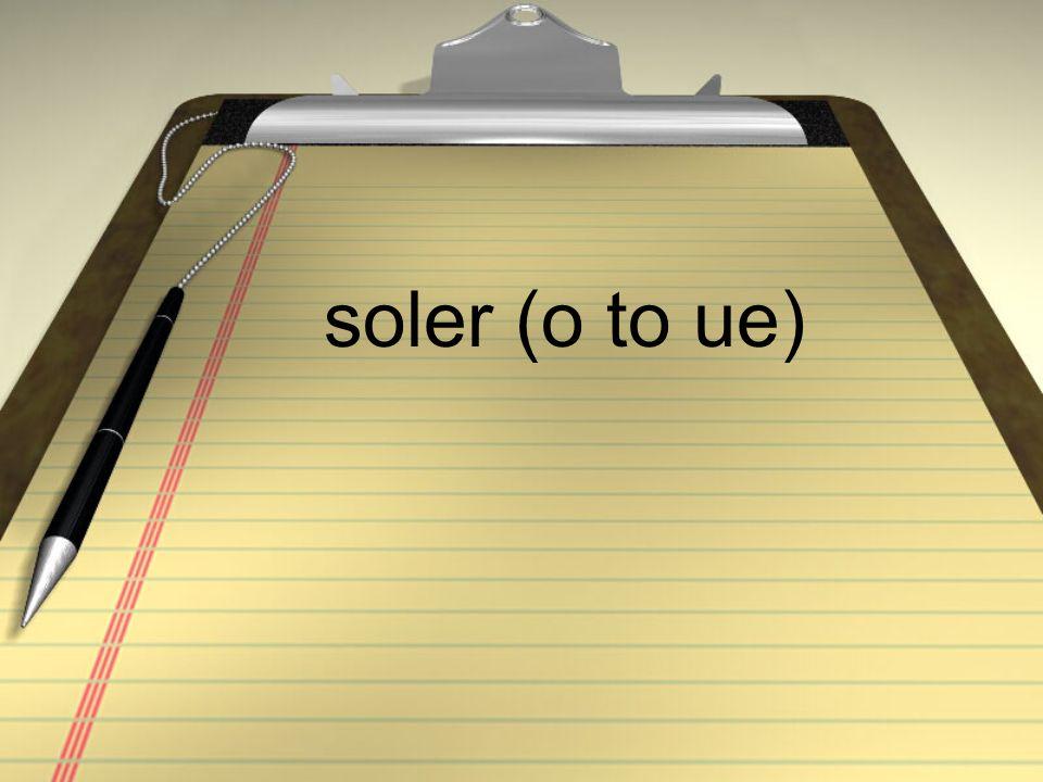 soler (o to ue)