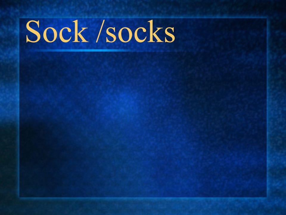 Sock /socks