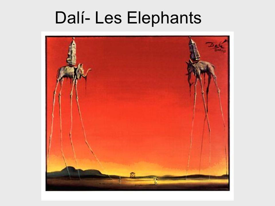Dalí- Les Elephants