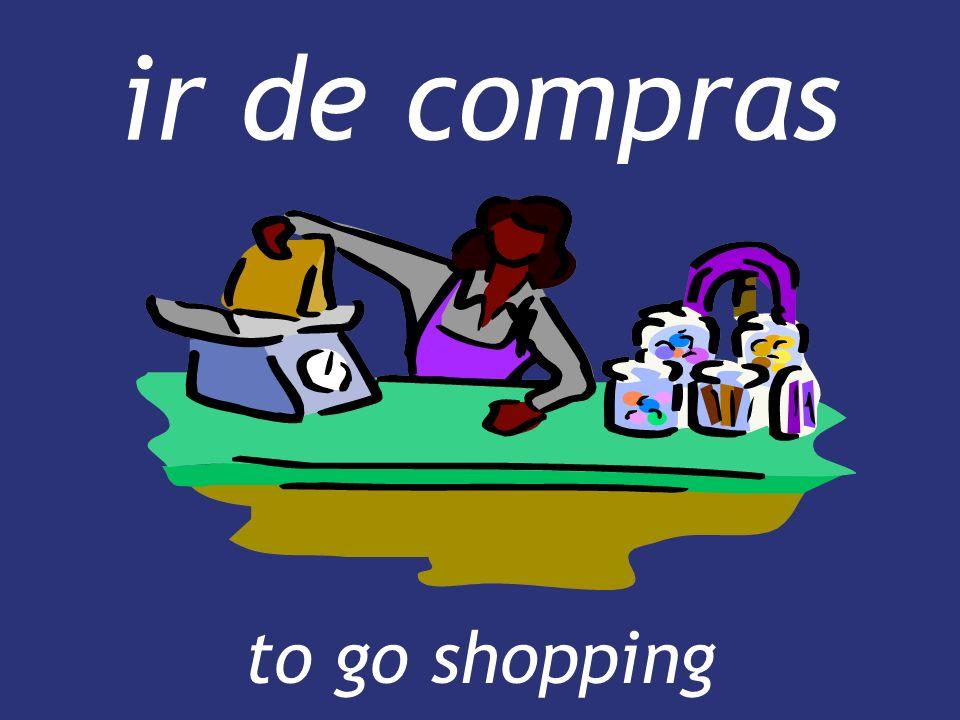 ir de compras to go shopping to go shopping