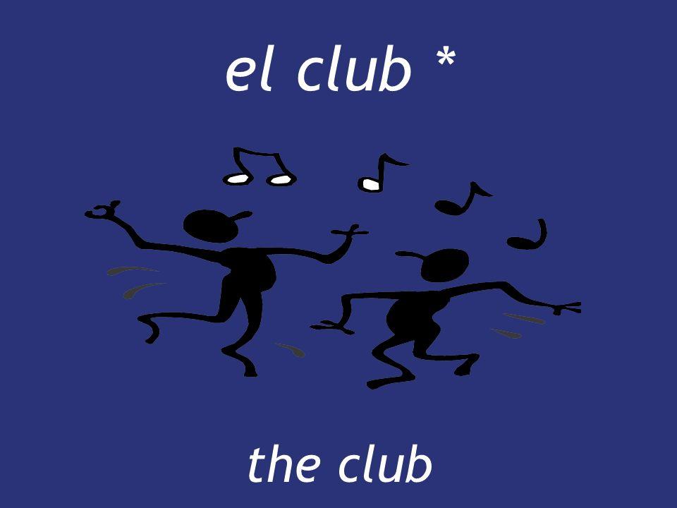 el club * the club the club