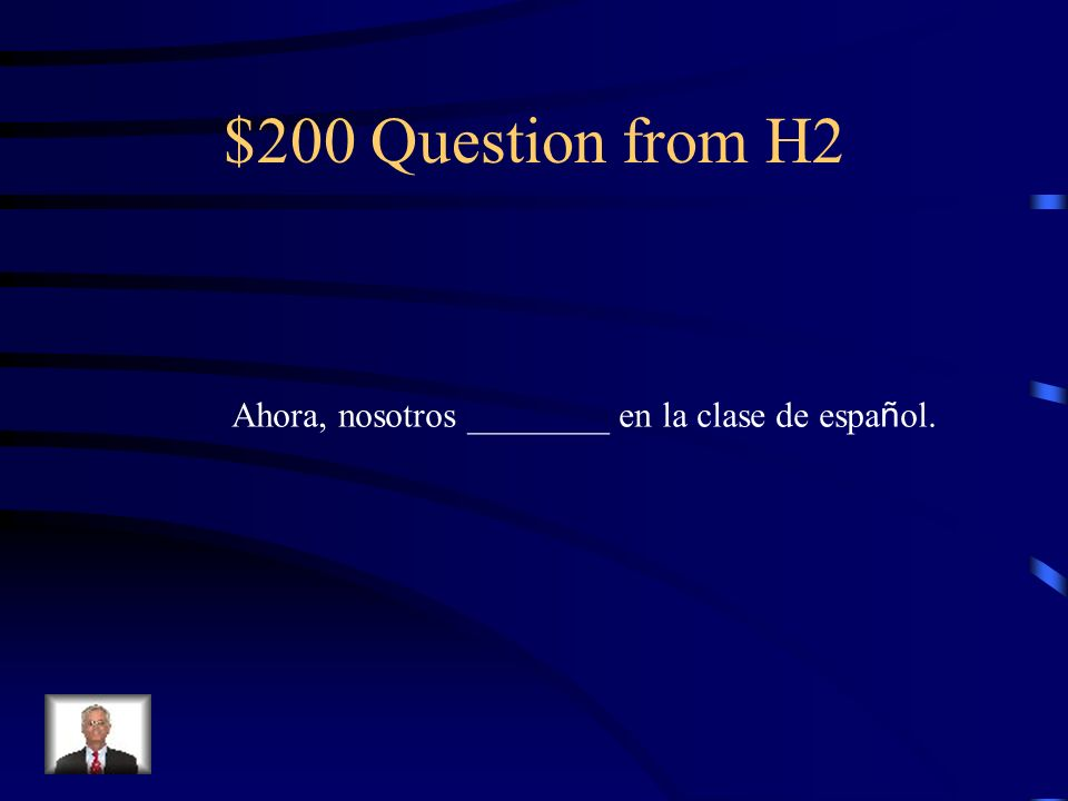 $100 Answer from H2 es