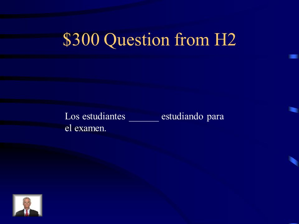 $200 Answer from H2 estamos