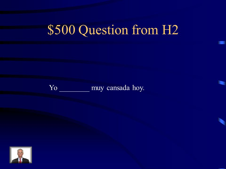 $400 Answer from H2 eres