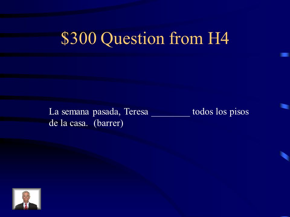 $200 Answer from H4 Estudiaron