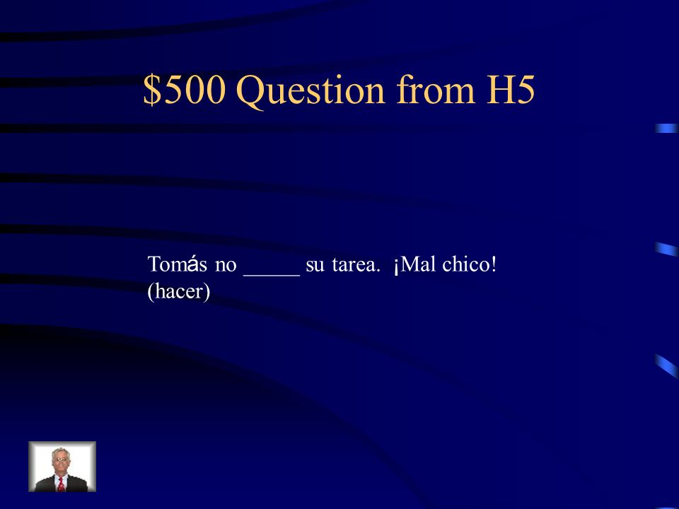 $400 Answer from H5 llegu é