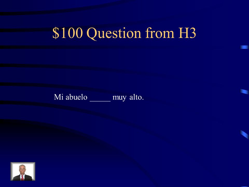 $500 Answer from H2 hab í a
