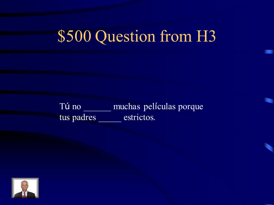 $400 Answer from H3 eran