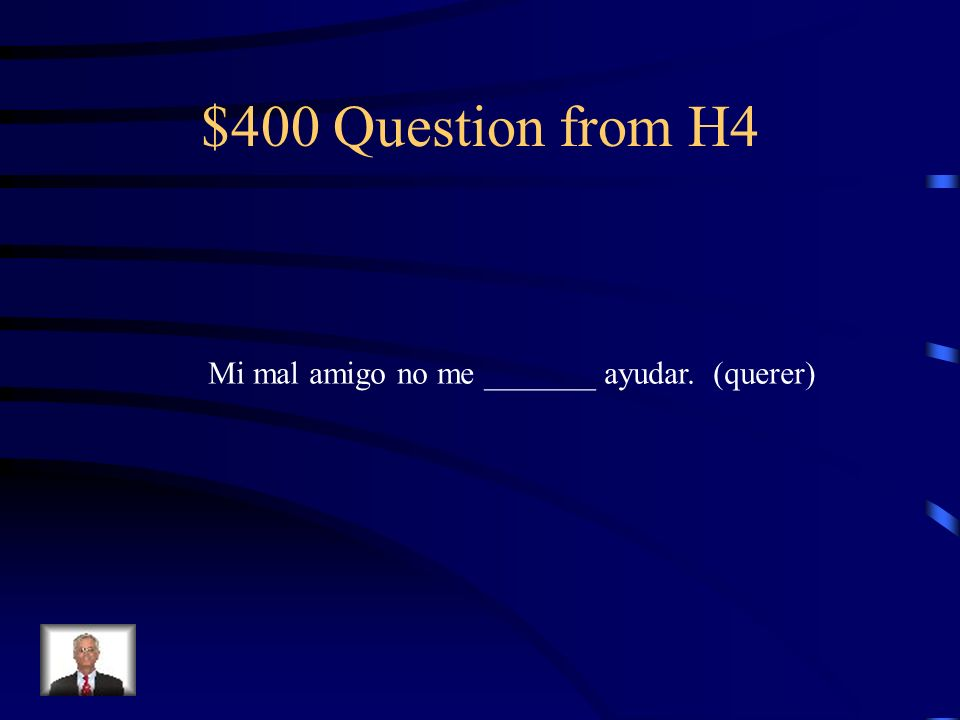 $300 Answer from H4 Se puso