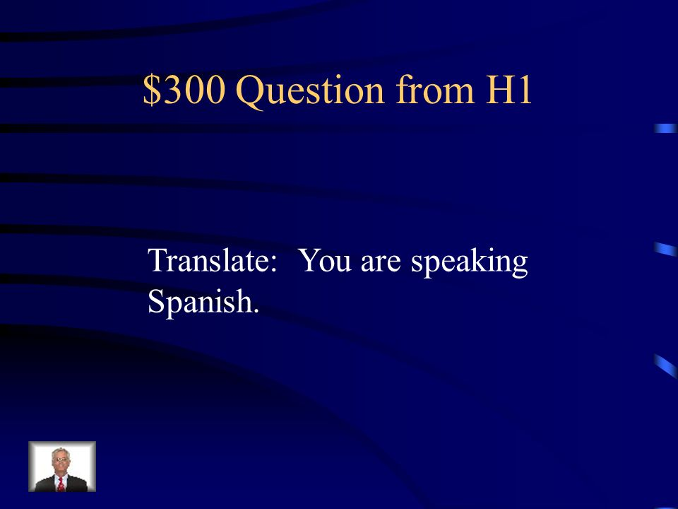 $200 Answer from H1 Estamos escribiendo.