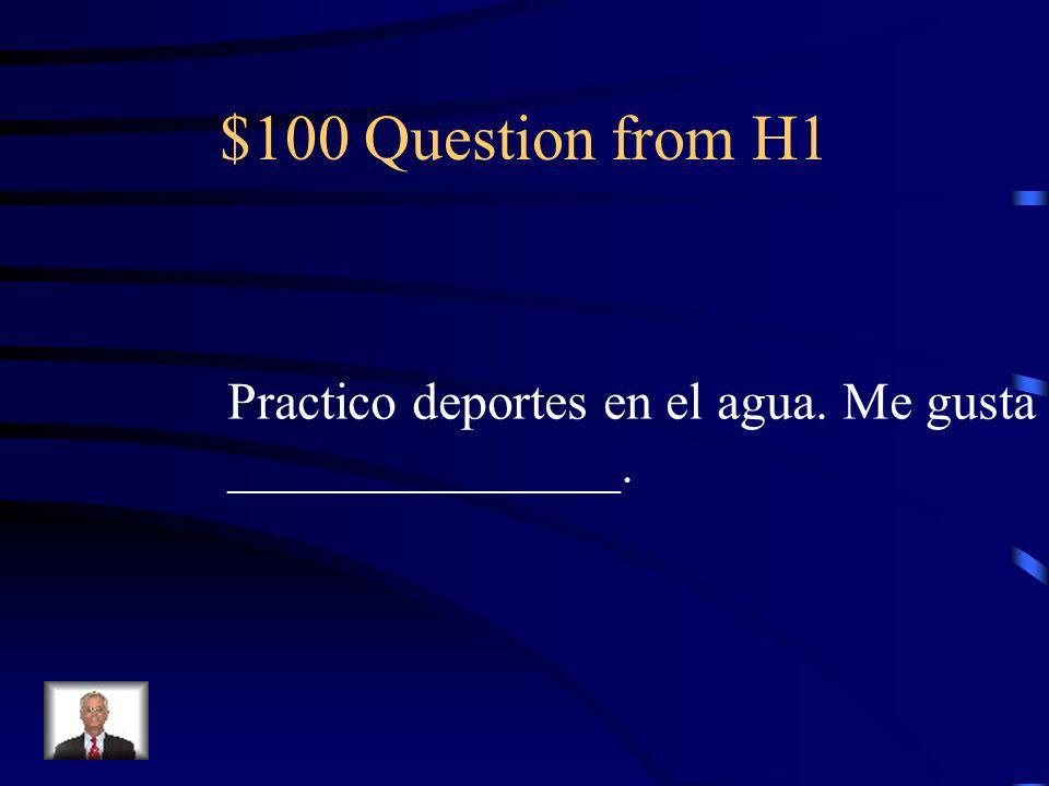 Jeopardy VocabGustarReflexivesIrregulars Idioms Q $100 Q $200 Q $300 Q $400 Q $500 Q $100 Q $200 Q $300 Q $400 Q $500 Final Jeopardy