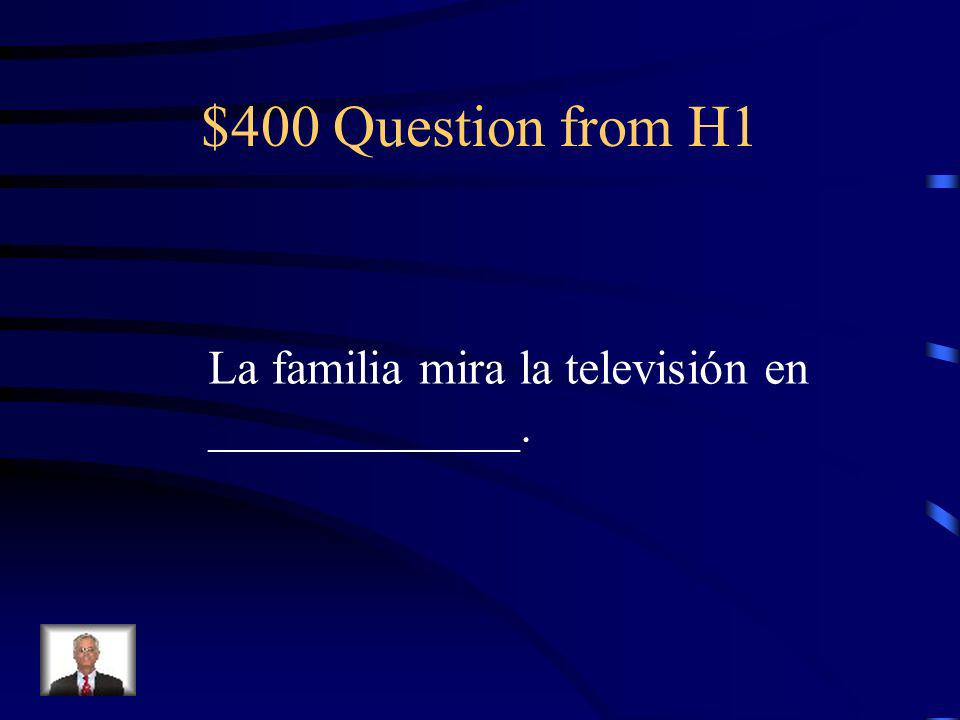 $300 Answer from H1 extrovertida