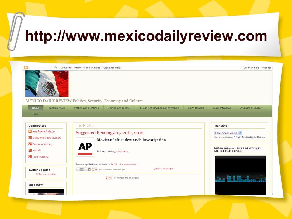 http://www.mexicodailyreview.com