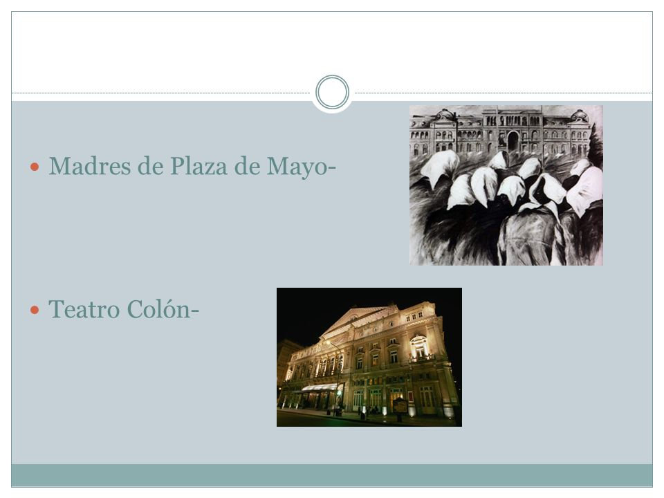 Av de Mayo: the best architecture in the city. Start at Plaza de Mayo and walk towards Congreso.