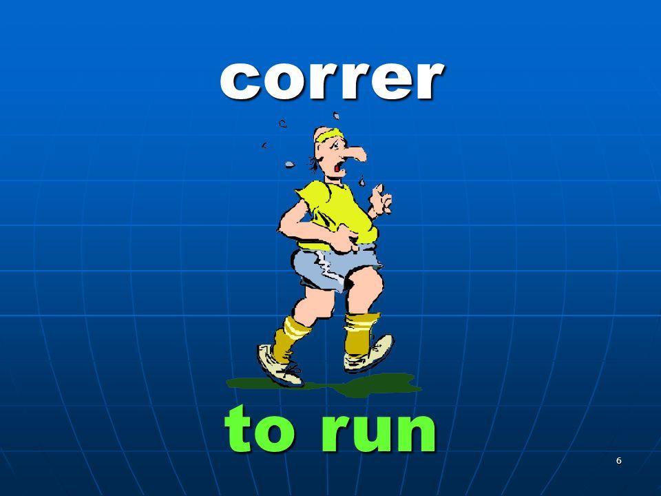 6 correr to run