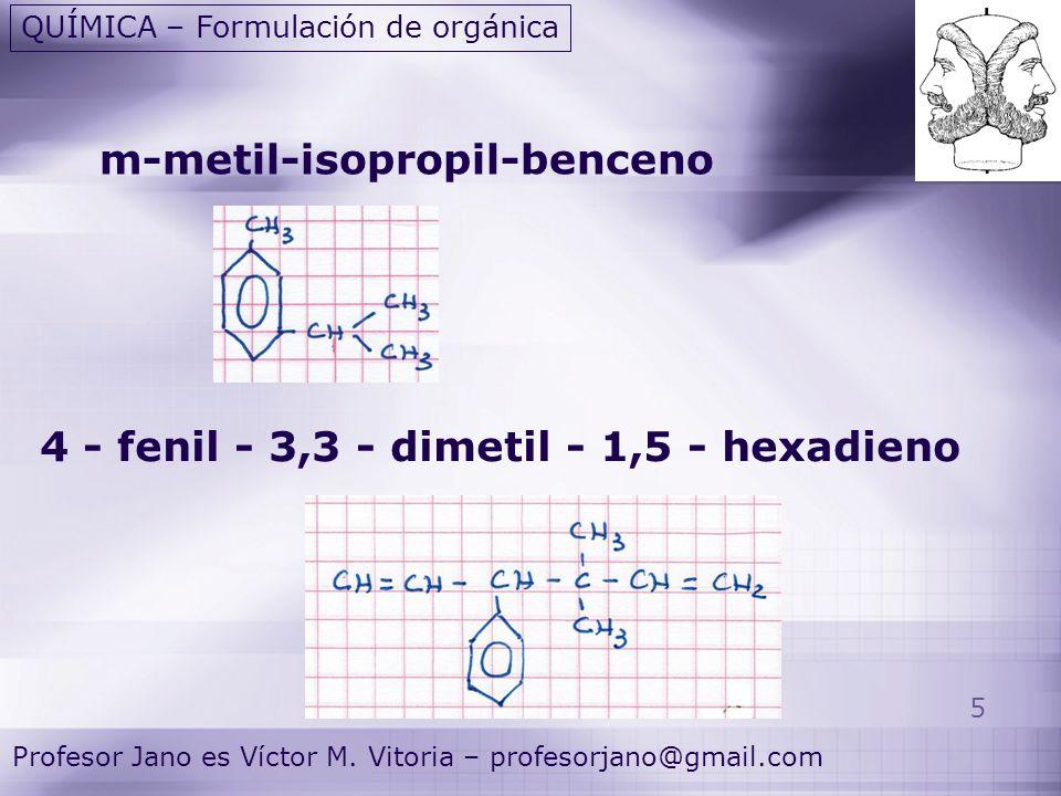 5 Profesor Jano es Víctor M.