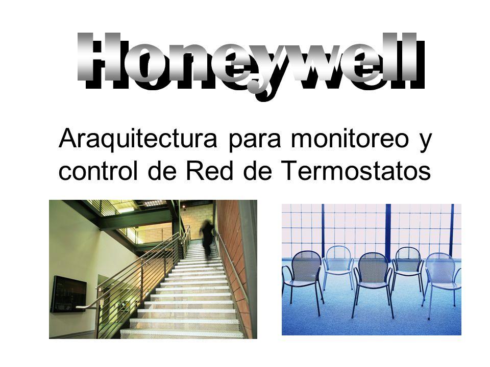 Araquitectura para monitoreo y control de Red de Termostatos