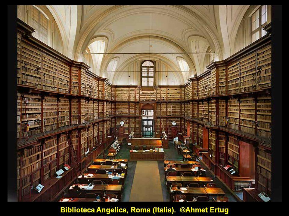 Biblioteca del monasterio de Wiblingen (Alemania). ©Ahmet Ertug