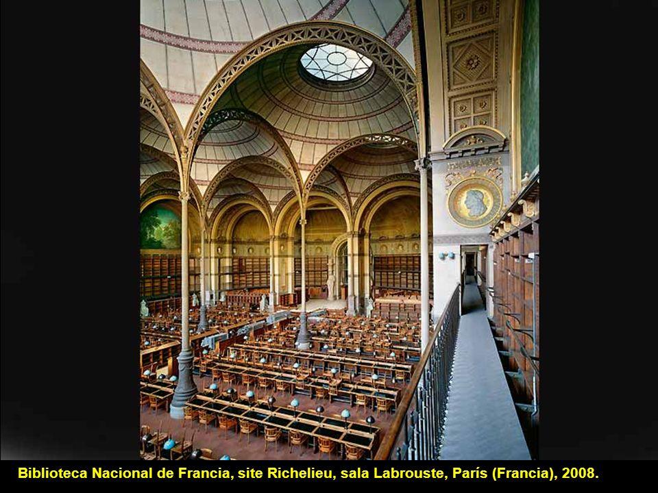 Biblioteca Sainte-Geneviève, París (Francia). ©Ahmet Ertug