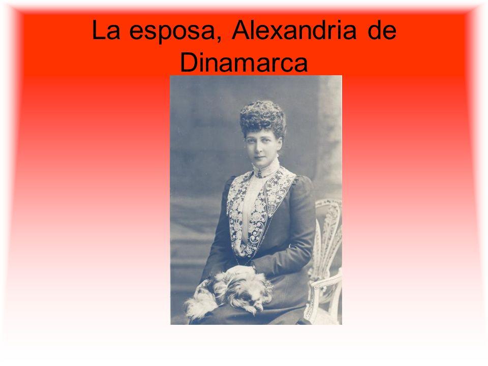 La esposa, Alexandria de Dinamarca