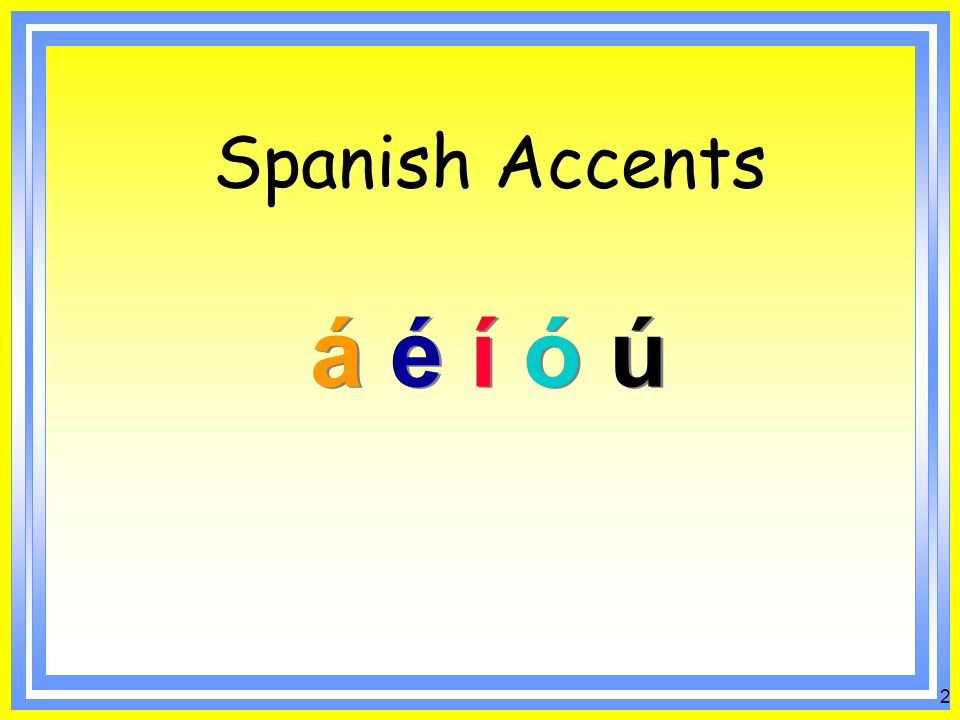 To understand when accents are used in Spanish in order to improve spelling and pronunciation