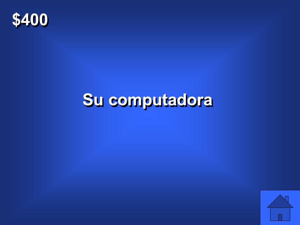 $400 (their) computadora C3Q4 (their) computadora C3Q4