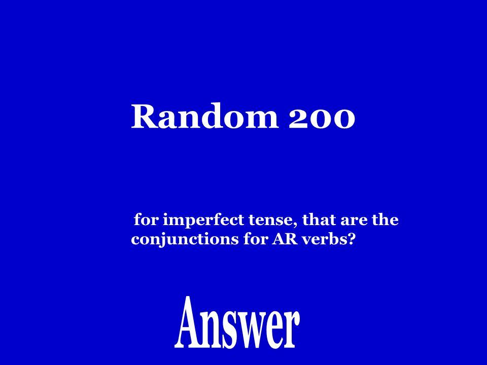 Random 100 Yo hablaria.