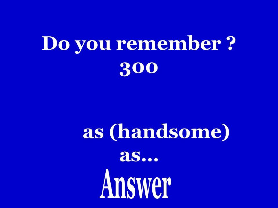 Do you remember 200 Tanto como.