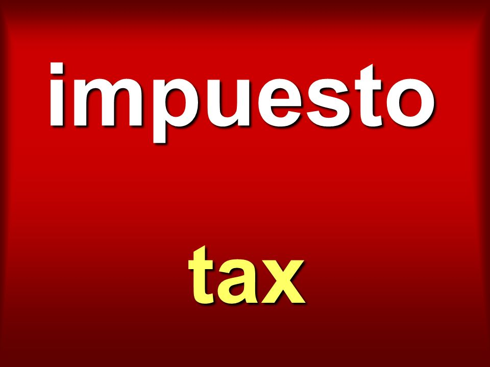 impuesto tax