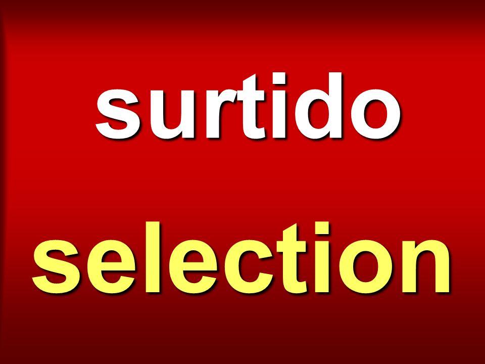 surtido selection