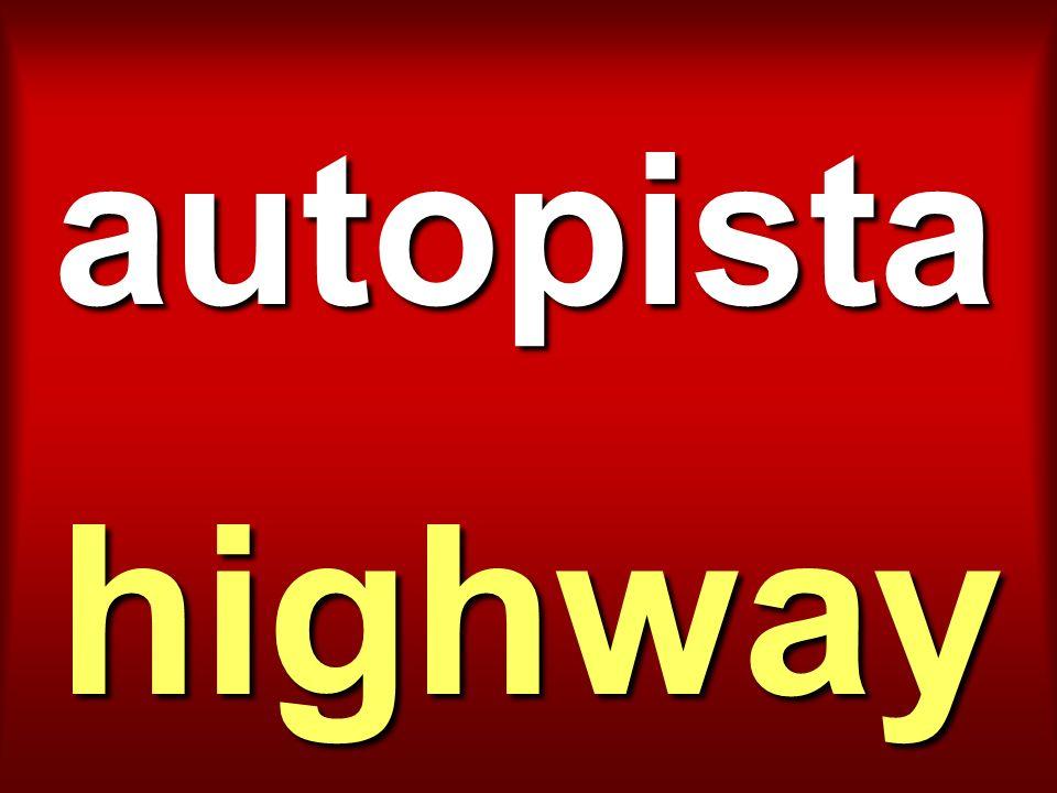 autopista highway