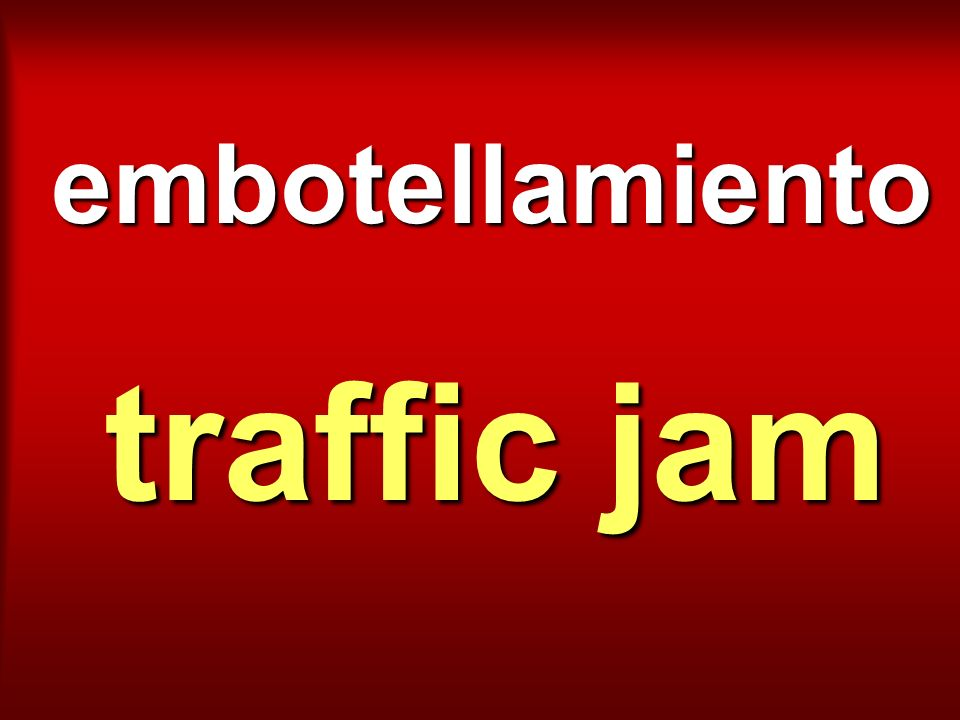 embotellamiento traffic jam