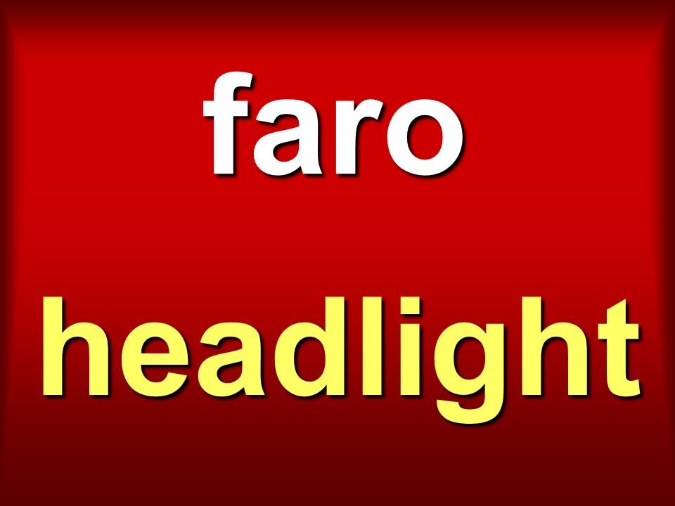 faro headlight