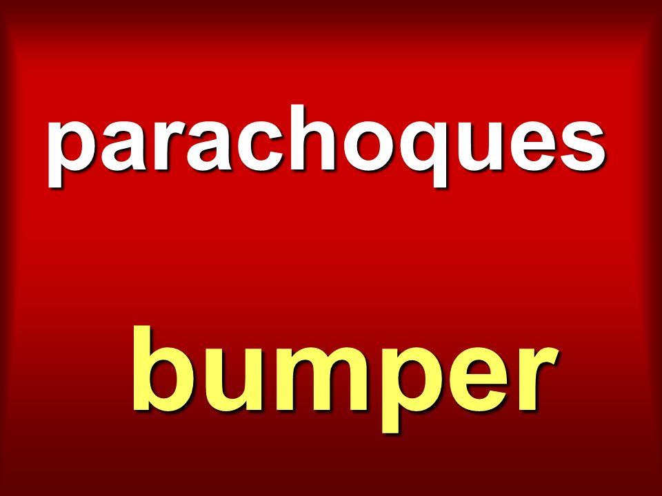 parachoques bumper