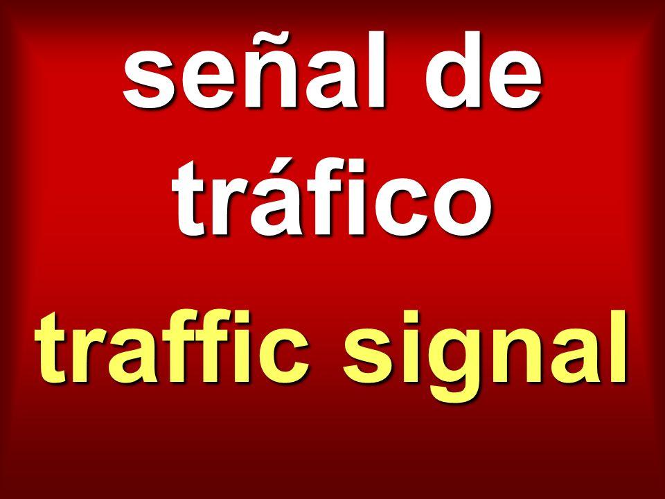 señal de tráfico traffic signal
