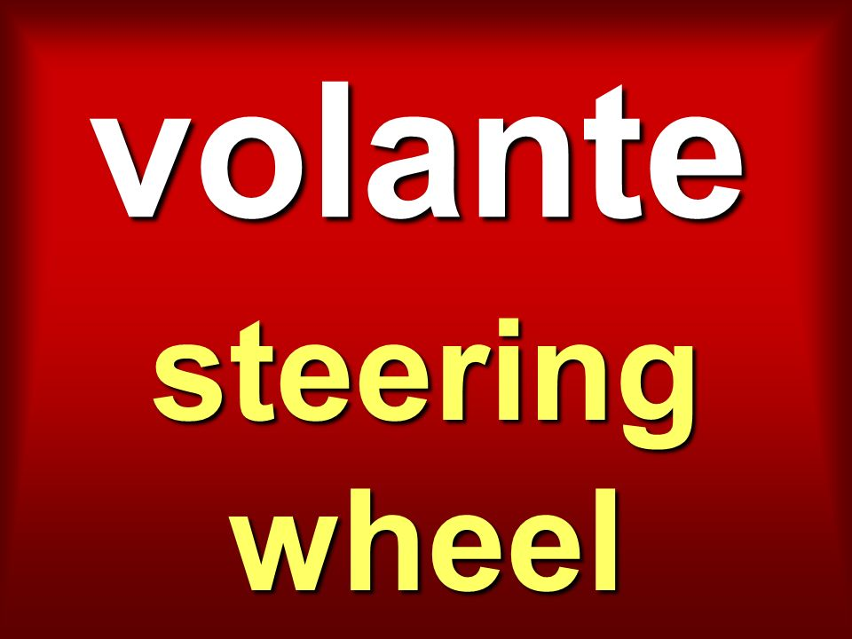 volante steering wheel