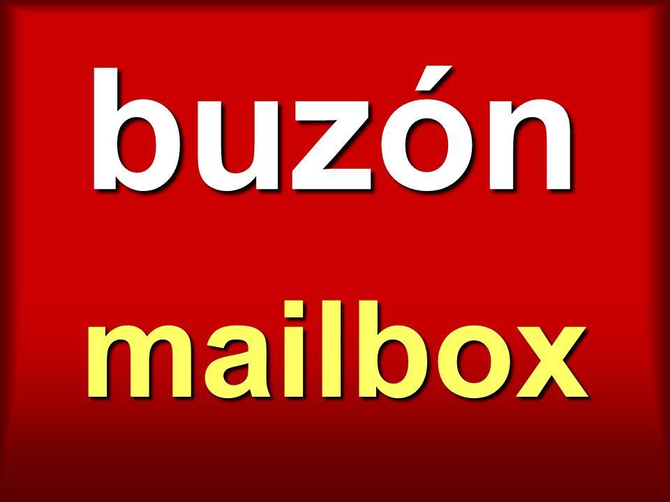 buzón mailbox