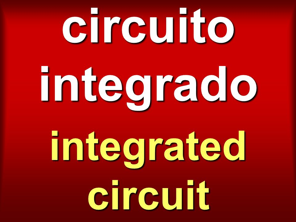 circuito integrado integrated circuit